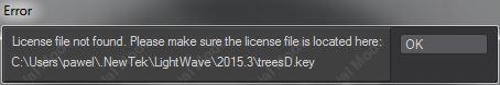 error_license